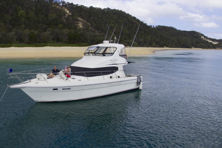 Brisbane Luxury Boat Charter Aussie Princess
